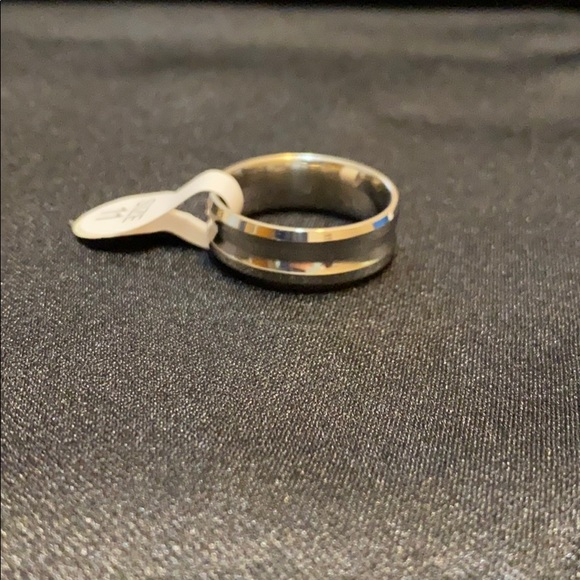 Men's Silver Toned Ring, Size 11